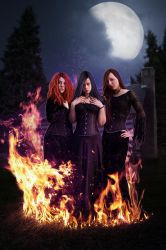 Witches by Jezzy-Art