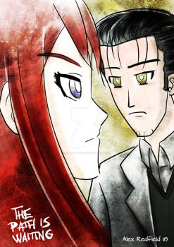 The path is waiting - Steins Gate 0 by Alex-Redfield