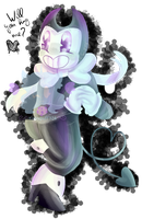 (Colour practice) Bendy by Kirbypuff326