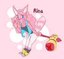 Rina The Raccoon by Zeighous