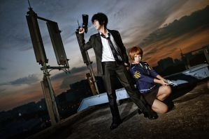 Psycho-Pass - Crime Coefficient by vaxzone