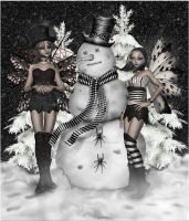 Nippy the Happy Snow Pimp by CaperGirl42