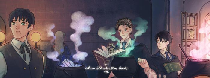 EHW Illustration Book 2017 by petitster