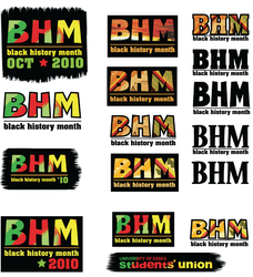 Black History Month Logos by mapgie