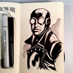 Inktober Day 11 - LOBSTER JOHNSON by D-MAC