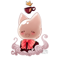 Prize : Teapot Kitty by SmolSalty