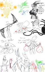 Rotg sketches by GrimmSkitz