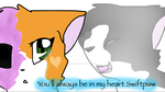 You'll always be in my heart by Bindiluckycat