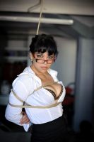 White shirt, glasses and ropes by cuntofaman