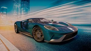 2017 Ford GT by melkorius