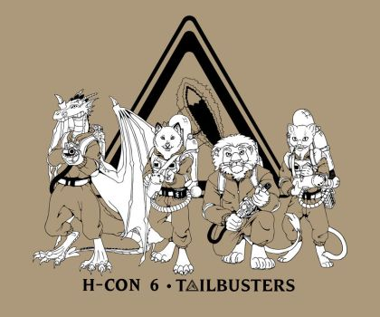 H-Con 6 T-shirt design by Neomae