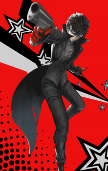 Persona 5 Joker by teasmacker