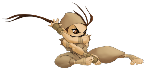 Chibi Ibuki Pose 3A by Rhykross