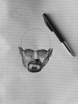 #WIP Walter White by Mila076
