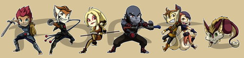 Stickers: Thundercats 2011 by forte-girl7