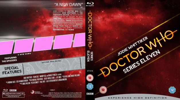 DOCTOR WHO Series 11 template by MrPacinoHead