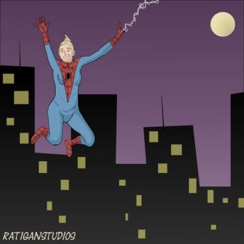 SpiderGirl by Joseph-Ratigan