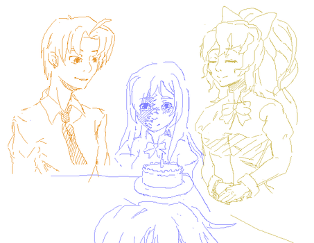 Hanako Birthday by Wallachia