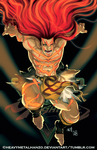 Street Fighter V Necalli by HeavyMetalHanzo