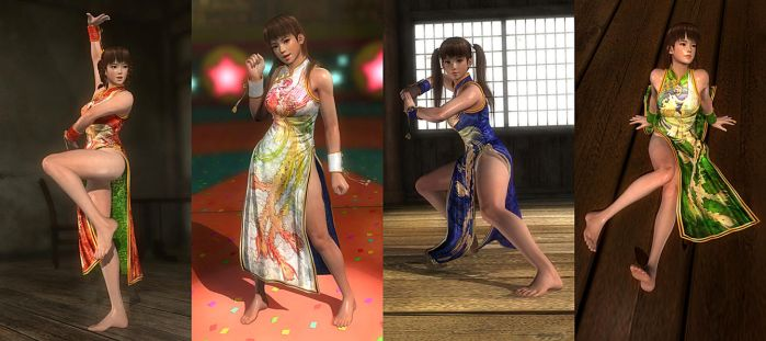DOA5LR Mod: Quipao Barefoot Pack by repinscourge