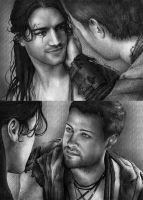 Nagron First Kiss (Spartacus) by figchan
