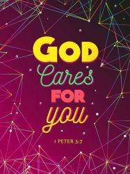 1 Peter 5:7 - Christian Poster by mostpato