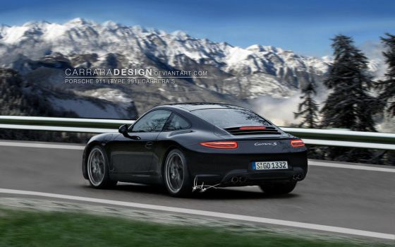 2012 Porsche 911 Carrera S - R by CarraraDesign