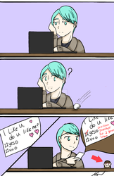 I'm Just Making Sure! .:Mystic Messenger V Comic:. by wateralchemist121