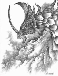 Greater Storm Dragon by ShamanX