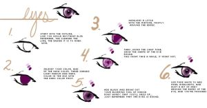 How to Color Eyes by crucifyofmine