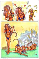Commissions: Tigra + Catnip by raccoon-eyes