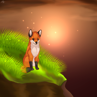 Little fox. by Nayra-the-Wolf