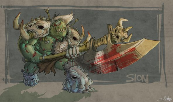 sion the slaughterer by jouste