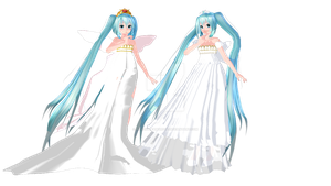 [MMD] Neo Queen Mikus DOWNLOAD by SilverDreamyRose