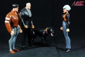 Barbara Gordon confronts Terry and Bruce by hunterknightcustoms