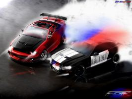 Ford Mustang Shelby HotPorsuit by Faik05