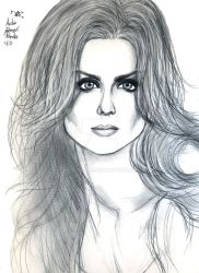 Emily Deschanel Sketch by Vladsnake