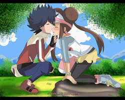 kiss on the nose by hikariangelove
