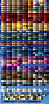 Color References 3 by UltimeciaFFB