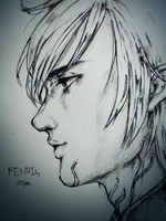 [Dragon age2] Fenris by zzingne