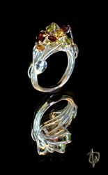Stardust Ring -perspective 3 by CosmicFolklore