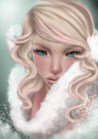 Winter girl by NaoPop