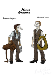 Stephen Wyatt and Ned O'Connor by Allaphaidole