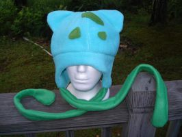 Bulbasaur Hat by Allyson-x
