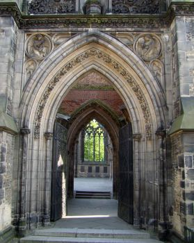 Gothic Architecture 01 by LuDa-Stock