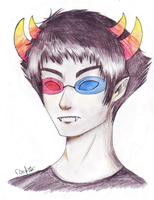 The Airs: Sollux by wolphie35