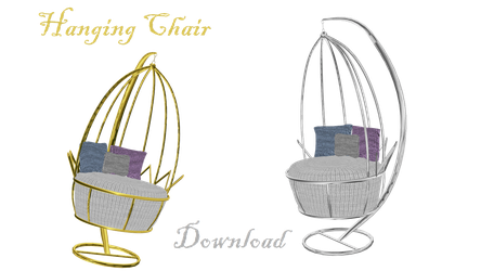 [MMD] Hanging Chair by LoreneMMD