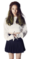 Krystal [F(x)] PNG [Render] by GAJMEditions