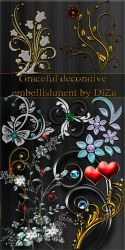Graceful decorative embellishm by DiZa-74