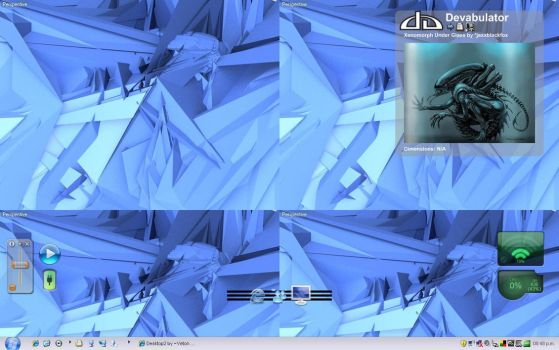 My desktop by Veton